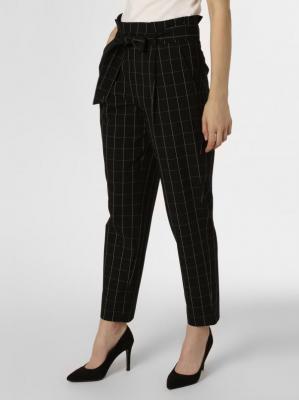Opus - Spodnie damskie – Enie, czarny