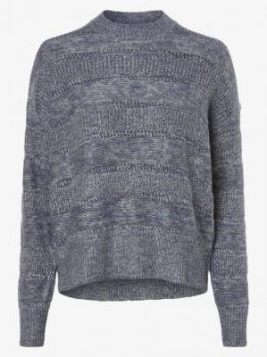 Pepe Jeans - Sweter damski – Charlotte, niebieski