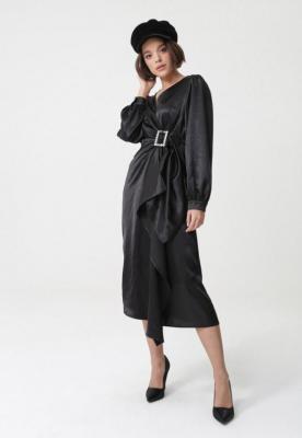 Czarna Sukienka Acle
