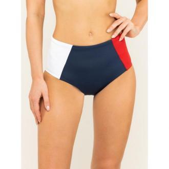 TOMMY HILFIGER Dół od bikini HW Bikini UW0UW01813 Kolorowy