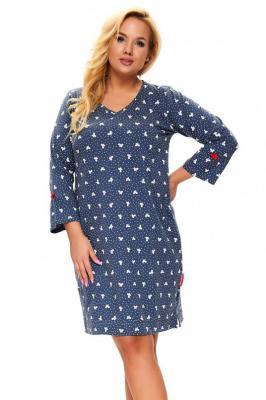 Dn-nightwear TB.9776 Nocna koszula - deep blue