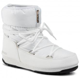 Śniegowce MOON BOOT - Low Nylon Wp 2 240093002 White