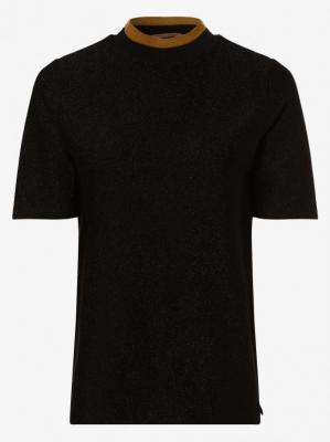 Scotch & Soda - T-shirt damski, czarny