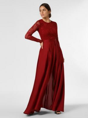 Swing - Damska sukienka wieczorowa, czerwony