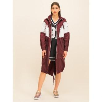 Guess Płaszcz przejściowy Artemis W01L76 WCL40 Bordowy Regular Fit