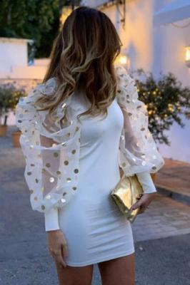 Damska sukienka KARIZA WHITE