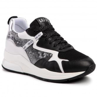 Sneakersy LIU JO - Karlie 35 BA0011 PX077 Black 22222
