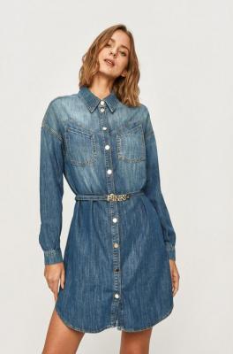 Pinko - Sukienka jeansowa