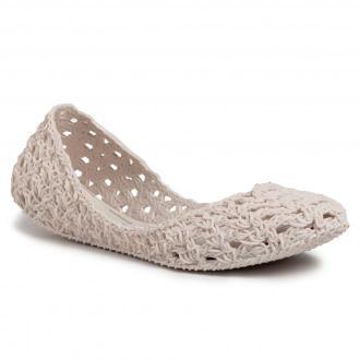 Baleriny MELISSA - Campana Crochet  Ad 32246  White 01177