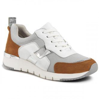 Sneakersy CAPRICE - 9-23707-24  Camel/White 314