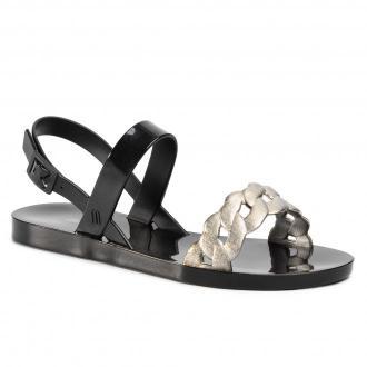 Sandały MELISSA - Lip II Ad 32729 Black/Silver 50545