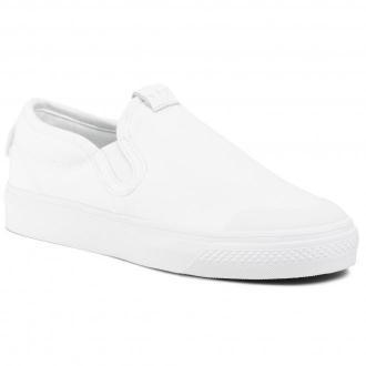 Buty adidas - Nizza Slip On EF1185  Ftwwht/Ftwwht/Ftwwht