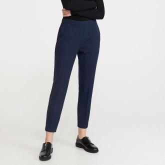 Reserved - Spodnie z kantem - Granatowy