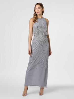 Hailey Logan - Damska sukienka wieczorowa, szary