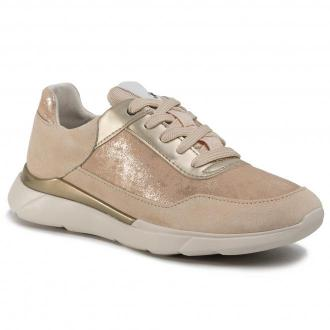 Sneakersy GEOX - D Hiver A D94FHA 07722 C5004 Sand
