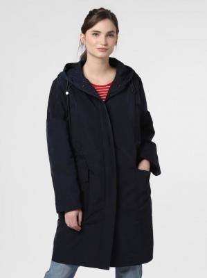 Opus - Damski płaszcz funkcyjny – Huyen, niebieski