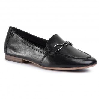 Półbuty TAMARIS - 1-24211-24 Black Leather 003