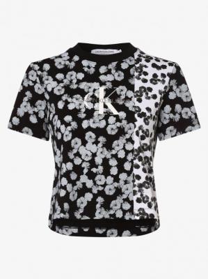 Calvin Klein Jeans - T-shirt damski, czarny