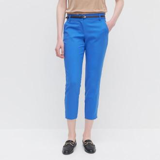 Reserved - Spodnie z paskiem - Niebieski