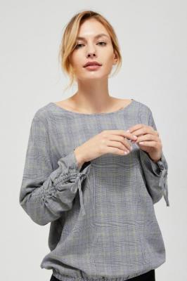 Koszula ze ściągaczem przy rękawach