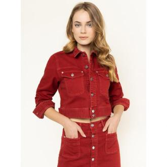 Pepe Jeans Kurtka jeansowa PEPE ARCHIVE Tiffany PL401770 Regular Fit