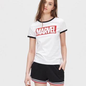 Cropp - Piżama Marvel - Biały