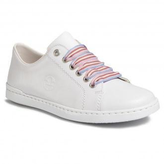 Sneakersy RIEKER - L2710-80 Weiss