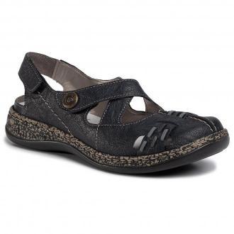 Sandały RIEKER - 46377-14  Blau