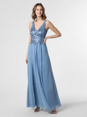 Suddenly Princess - Damska sukienka wieczorowa, niebieski
