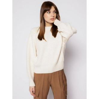 Pepe Jeans Sweter Vania PL701569 Beżowy Regular Fit