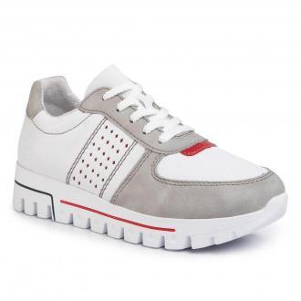 Sneakersy RIEKER - L2820-40 Weiss Kombi