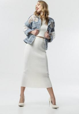 Kremowa Spódnica Liyana