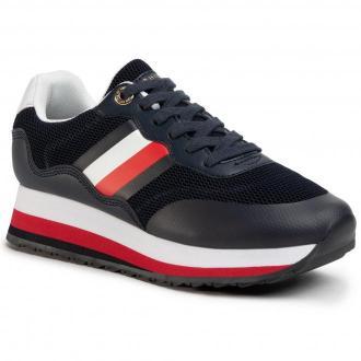 Sneakersy TOMMY HILFIGER - Sporty Tommy Retro Runner FW0FW04688 Desert Sky DW5