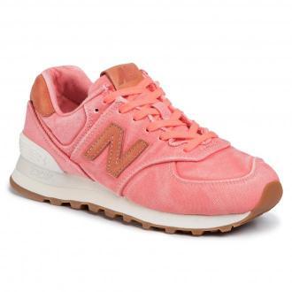 Sneakersy NEW BALANCE - WL574WTR Różowy