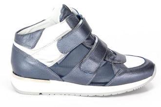 Sneakersy Karino 1652/149-P Niebieski/Srebrny