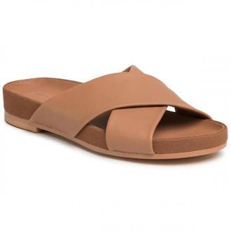 Klapki CLARKS - Pure Cross 261477514 Tan