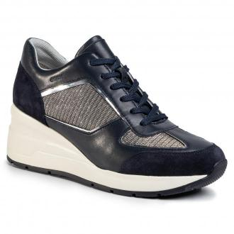 Sneakersy GEOX - D Zosma A D028LA 0EW85 C4002 Navy