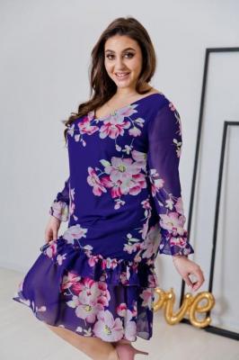 Sukienka ARIEL Plus Size Wzór 1