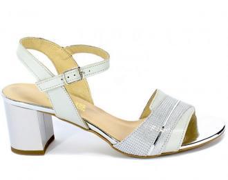 Sandały Gamis 3940 A68+P129 Szary Skóra