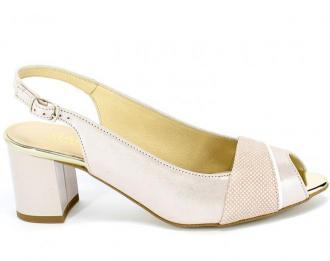 Sandały Gamis 3921 A89+A21 Różowy Skóra