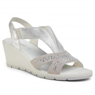 Sandały IMAC - 508170  Silver/Grey 72105/018