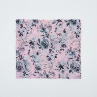 Sinsay - Chusta w kwiaty - Różowy