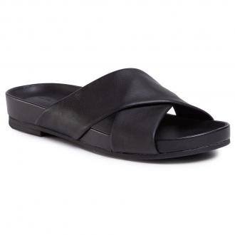 Klapki CLARKS - Pure Cross 261477504  Black Leather