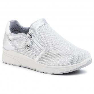 Sneakersy IMAC - 506540  White/Silver/Si 01440/026