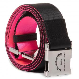 Pasek Damski KARL LAGERFELD - 201W3197  Neon Pink