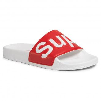 Klapki SUPERGA - 1908 Puu S111I2W White/Red A06
