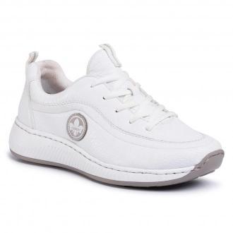 Sneakersy RIEKER - N5504-80 Weiss