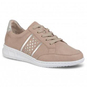 Sneakersy RIEKER - N3124-62 Beige