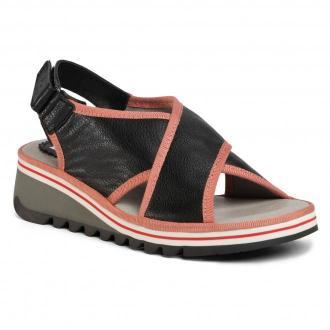 Sandały FLY LONDON - Tanofly P501133000 Black/Pink