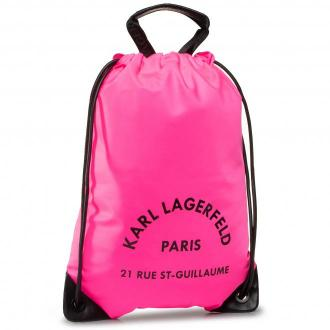 Plecak KARL LAGERFELD - 201W3078 Neon Pink